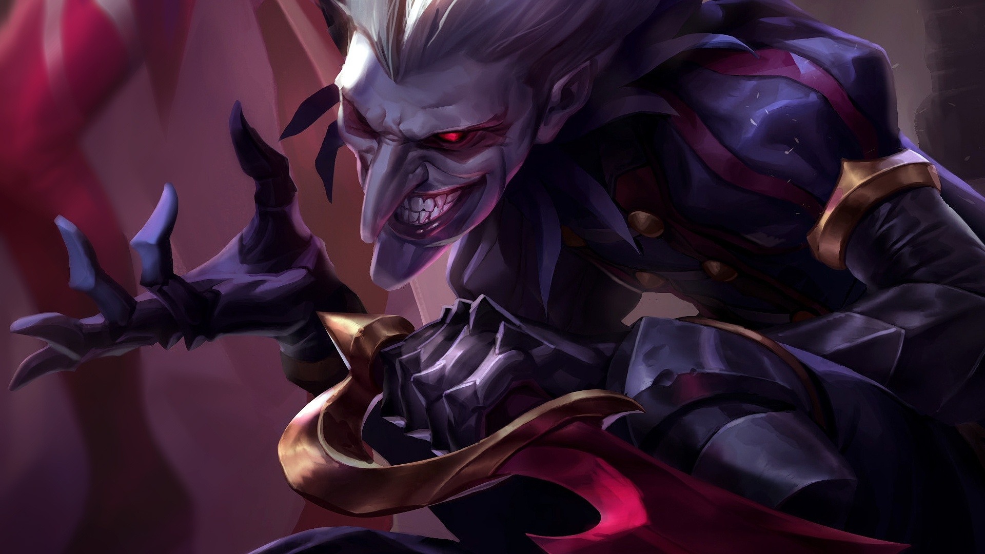 Sivir Wallpaper Quote This Is Shaco S Real Face Right