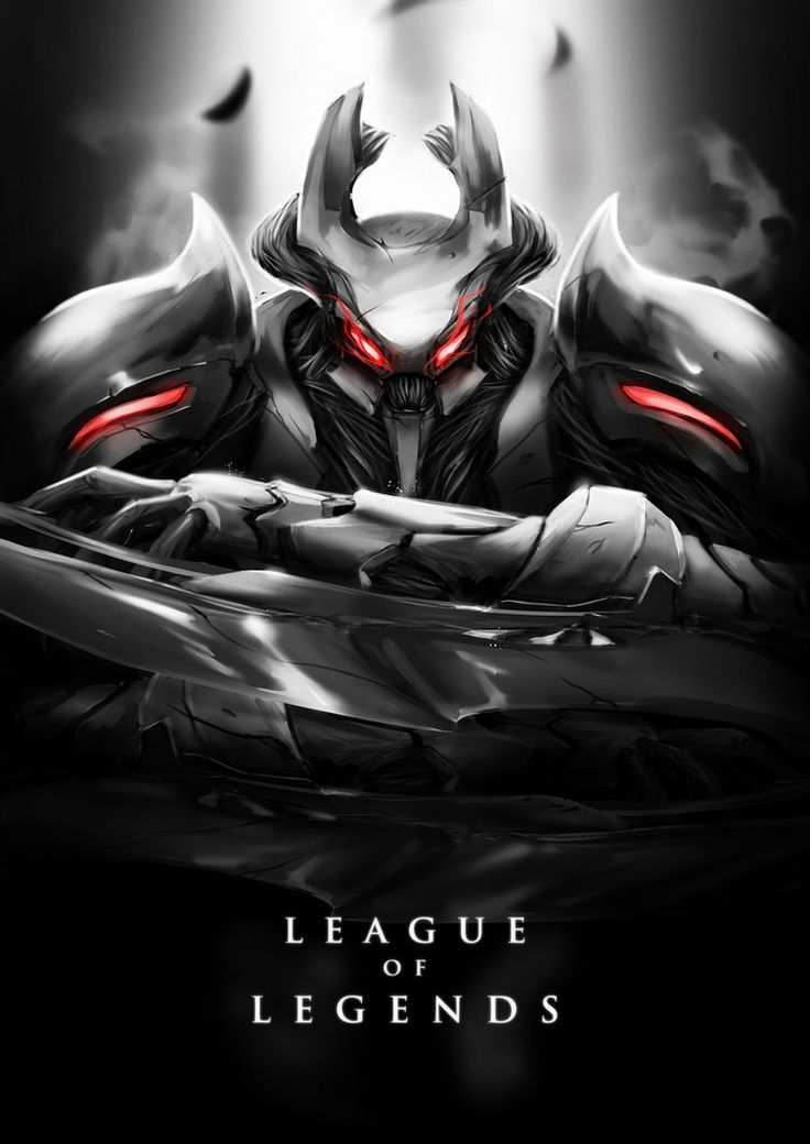 Hd Wallpapers O Wallpapers En Negro Hd De League Of Legends Taringa