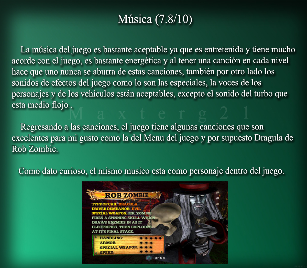 Twisted Metal 4 Construction Yard Soundtrack Análisis Twisted Metal 4 Taringa