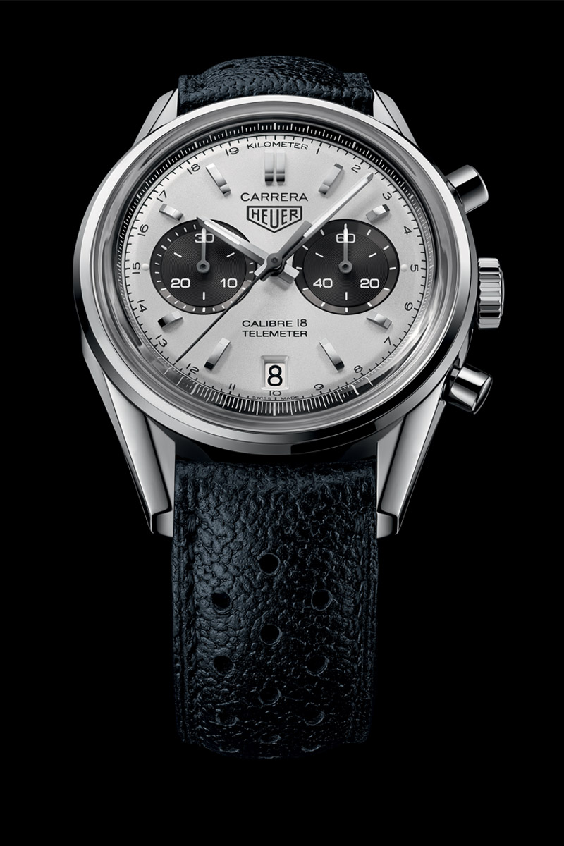 Cariera' Back To Basics With The Tag Heuer Carrera Calibre 18 Chronograph