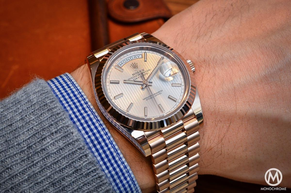 Rolex Daydate Introducing The Rolex Day Date 40 With The New Calibre 3255 Live