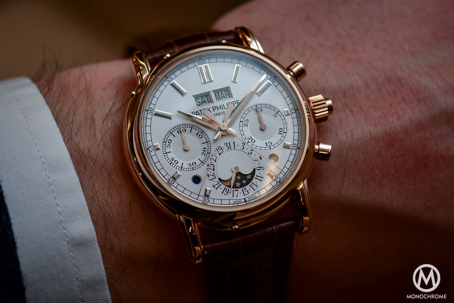 P Philippe Watch Hands On Patek Philippe 5204r Split Seconds Chronograph