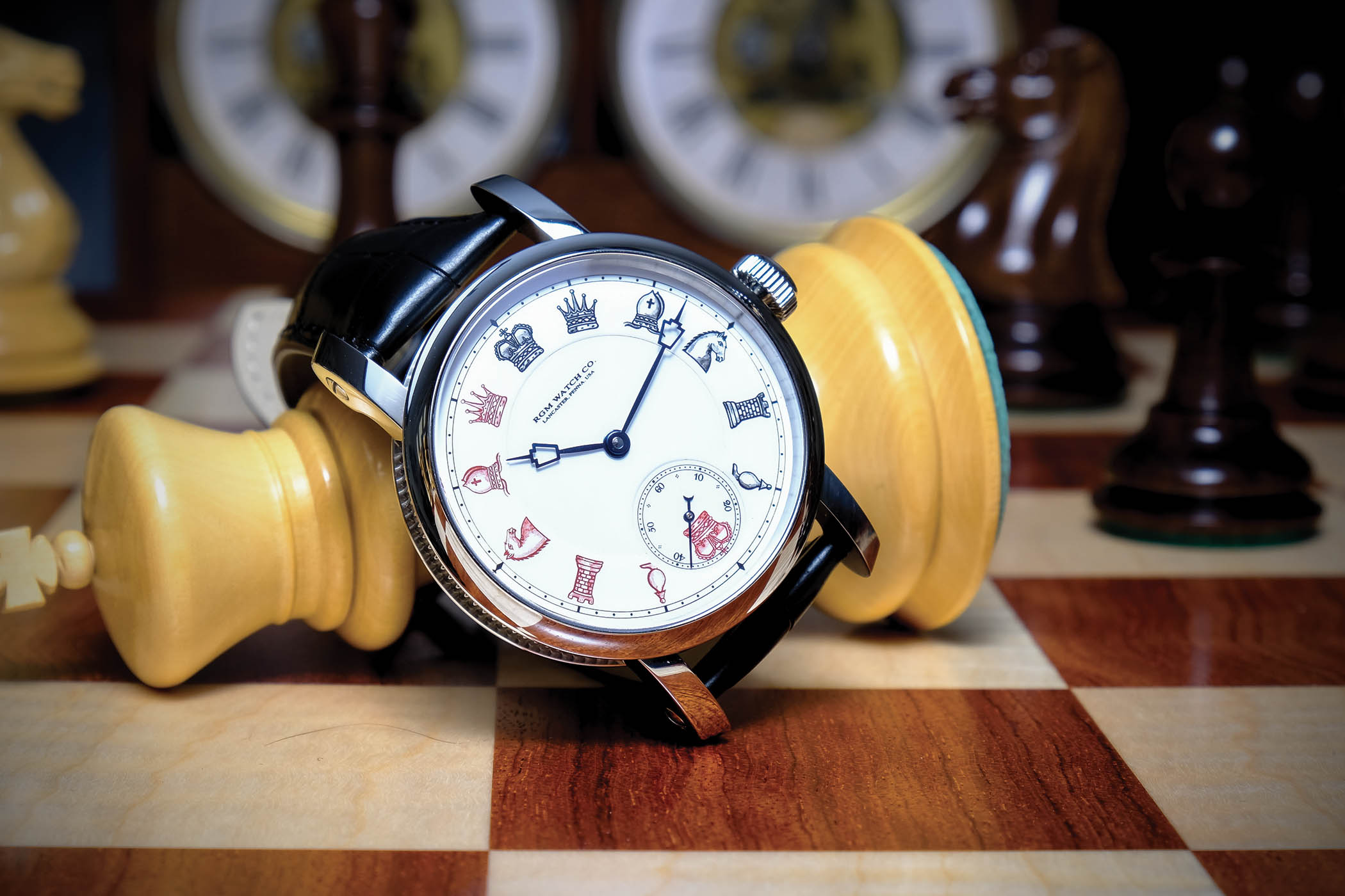 American Made Alarm Clock Introducing The American Made Rgm Chess In Enamel Specs Price