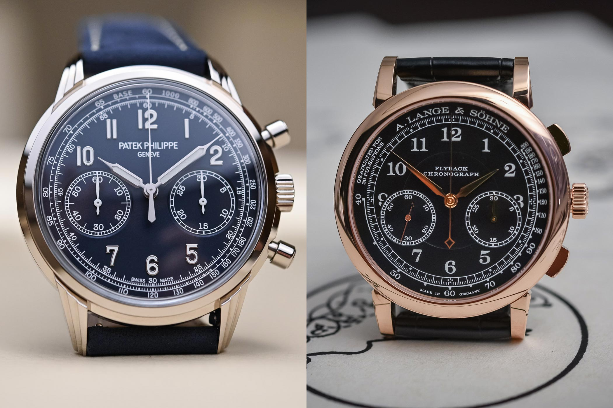 / Vs The Battle Of High End Chronographs Part 3 Patek Vs Lange