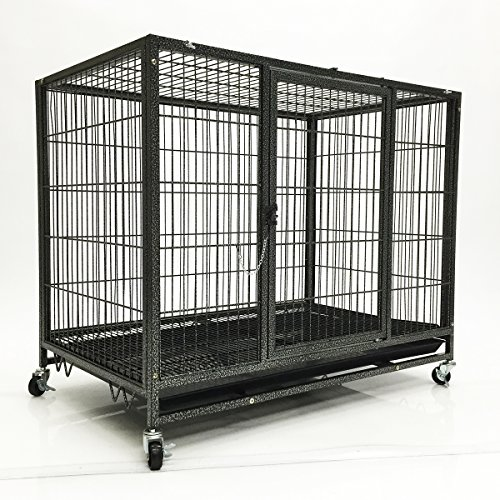 K9 Pet Carrier Large My1stpet Heavy Duty Dog Cage With 2 Doors K9 Crates