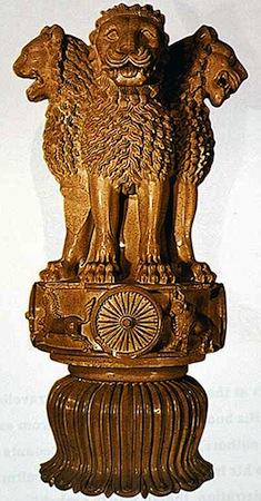 Ashok Chakra 3d Wallpaper Lion Capital Ashokan Pillar At Sarnath Smarthistory