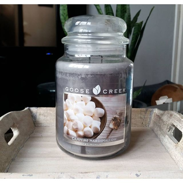 Goose Creek large jar Campfire Marshmallow