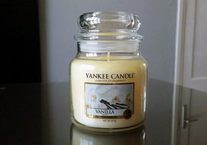 Yankee Candle Vanilla