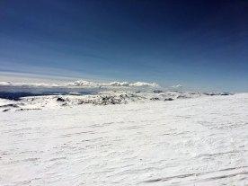 Utsikten mot sør fra Kavehøgde Ø2 (2088 moh.).