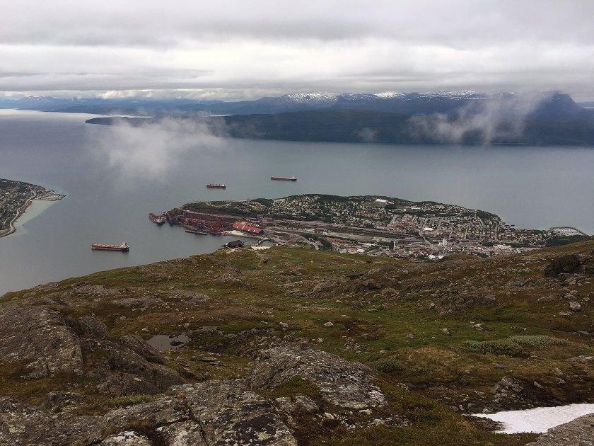 Narvik sentrum.