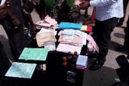 Insécurité: Un présumé auteur des ''faux documents'' épinglé par les forces de sécurité