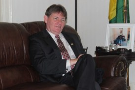 ''Il y a deux menaces qui guettent la Guinée'' dit l'Ambassadeur des Etats-Unis