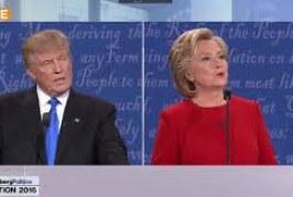 Présidentielle américaine : les temps forts du premier débat Clinton – Trump