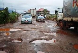 Les routes guinéennes sont dans un état de dégradation avancée