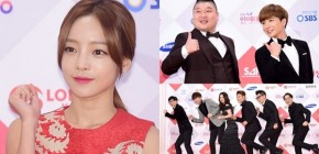 Hadiri SBS Entertainment Awards 2015, Bintang Running Man Pose Lucu