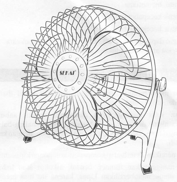 Kipas angin Sekai HFN 650