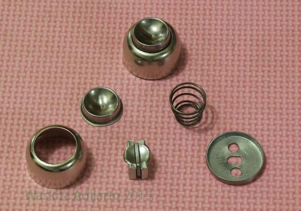 Komponen magnetic door stopper imperial