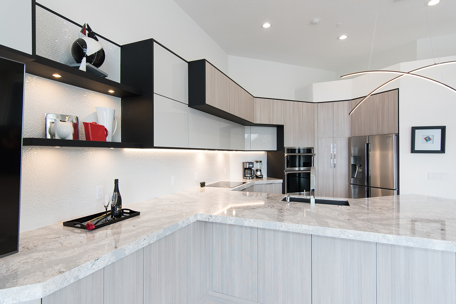 Brilliant Fort Lauderdale Kitchen Remodel Miralis Cabinetry