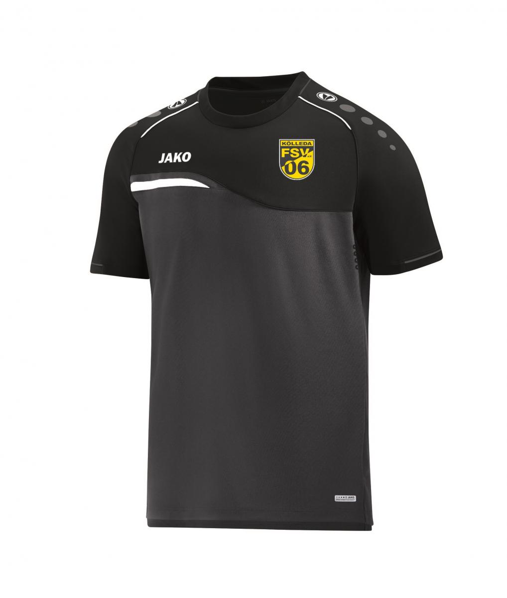 Anthrazit Schwarz T Shirt Competition 2 Fsv 06 Kölleda Anthrazit Schwarz 164