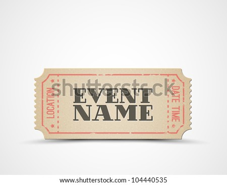 Admit Ticket Template Free  template Admit One Ticket Invitation - admission tickets template