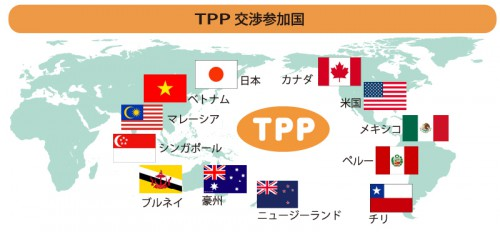 TPP交渉参加国