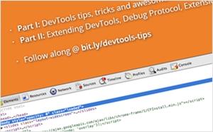 ChromeのデベロッパーツールのTipsやテクニックを紹介するスライド・DevTools Tips and Tricks【かちびと.net】