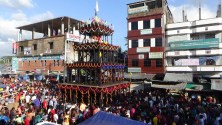 কচুয়ার সাচারে আজ ভারতীয় উপমহাদেশের বৃহত্তম রথযাত্রা