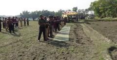 একাদশ জাতীয় সংসদ নির্বাচন : কচুয়ায় আনসার ও গ্রাম প্রতিরক্ষা বাহিনীর ফায়ারিং মহড়া অনুষ্ঠিত