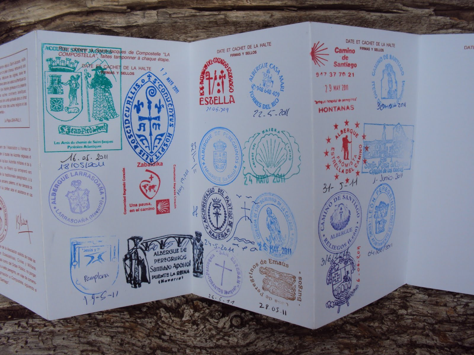 Spain K A C Johnson Books - Camino Santiago Passport