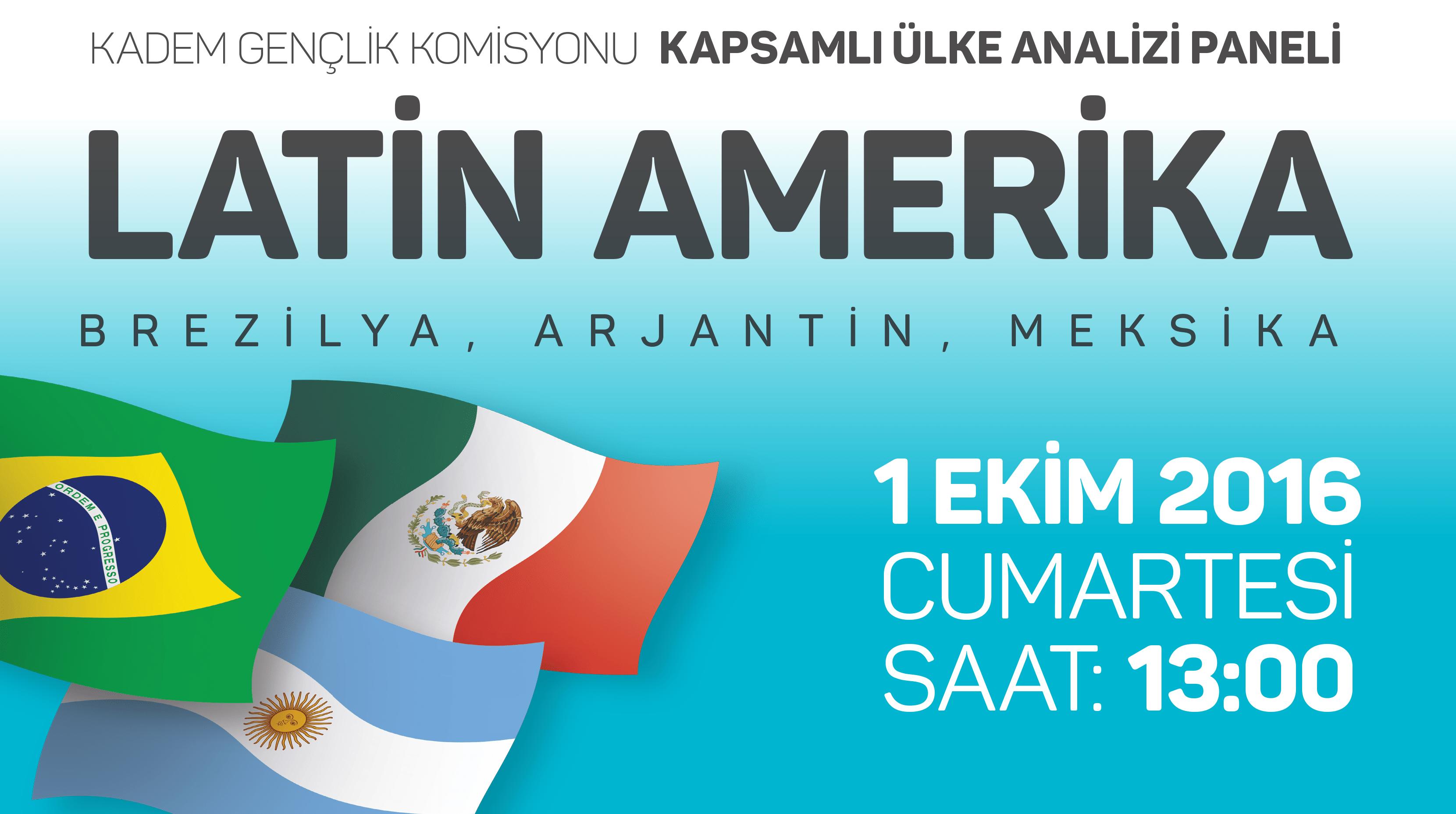 KADEM Gençlik, Latin Amerika'yı konuşacak