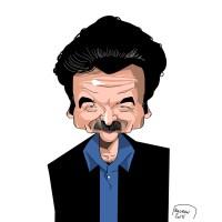 Edwy Plenel caricature