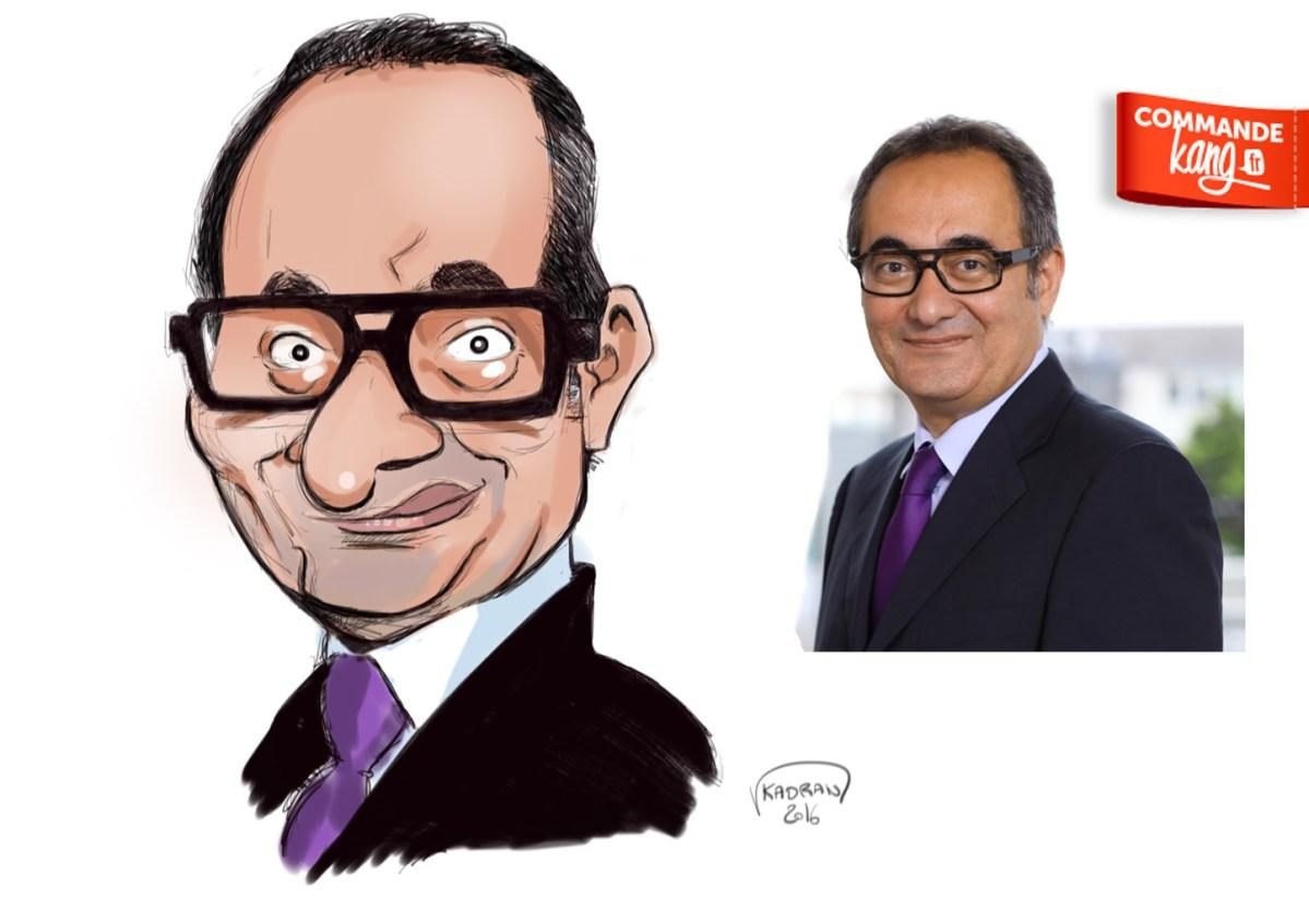 Commandez votre caricature sur Kang.fr