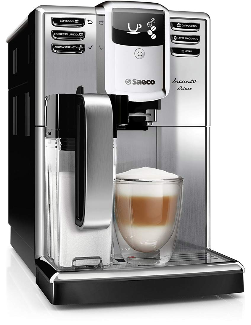 Philips Lux ᐅ Saeco Hd8921/01 Incanto Deluxe Kaffeevollautomat