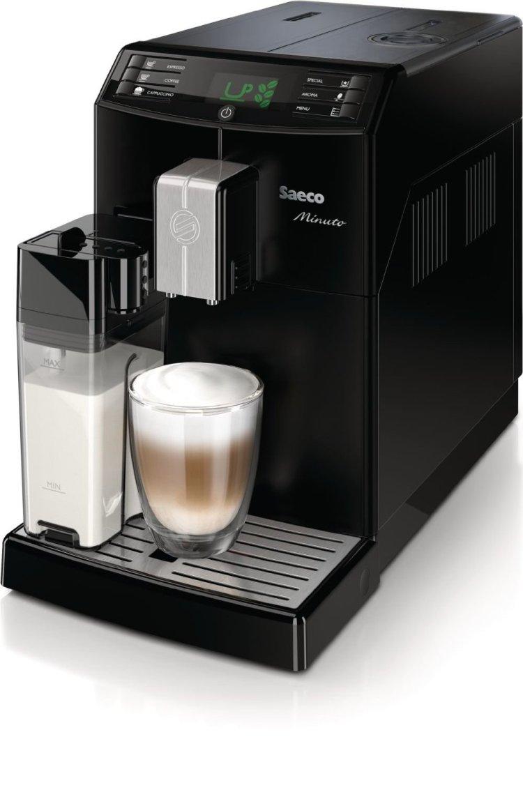 Kaffeevollautomat Tollautomat Test Saeco HD8763 Minutoest Saeco HD8763 Minuto One Touch