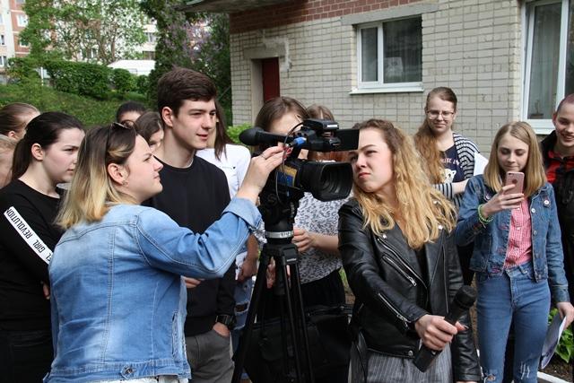 Одинадцятикласники освоюють ази тележурналістики