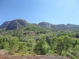 The Sahyadri at Vellarada which shields Thiruvananthapuram from the harsh summers on the other side.