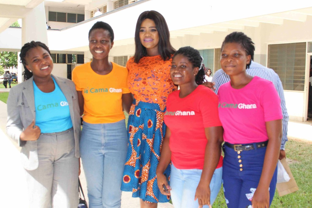 Amazing young women from Cama Ghana who advocate for Girl-Child Education. This year they demonstrated their deep commitment to collective action for gender parity. Really amazing and inspiring.