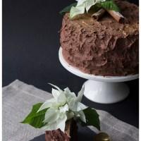 Chokoladekage med et twist af Jul