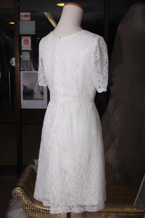 短袖圓領姊妹裙 TE022