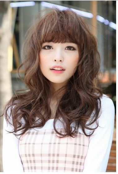 Layered Hair Female Top 9 Japanese Bangs Hairstyles Styles At Life