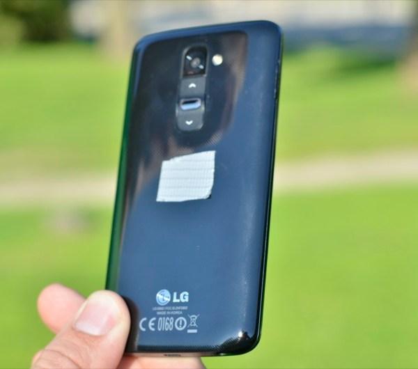 LG G2 tagant