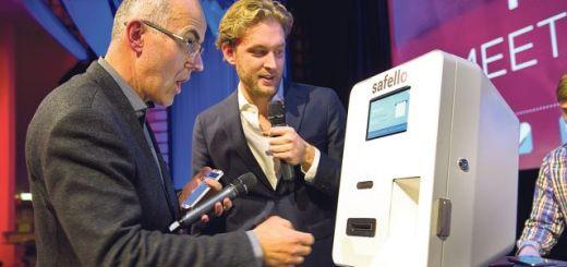 SEB riskikapitalist David Sonnek ning Safello tegevjuht Frank Schuil