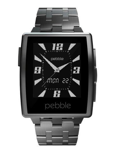 Pebble Steel hõbe