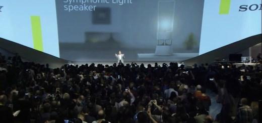 Sony Symphonic Light Speaker