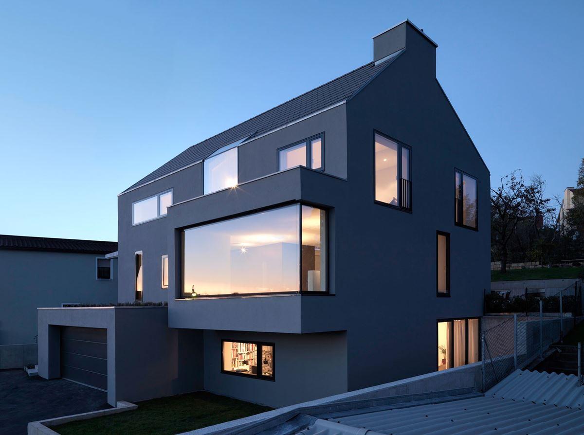 罕見的極簡風格建築設計 Haus F - Ippolito Fleitz Group