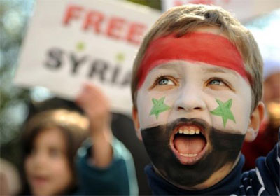 syrian-revolution-boy-painted-face