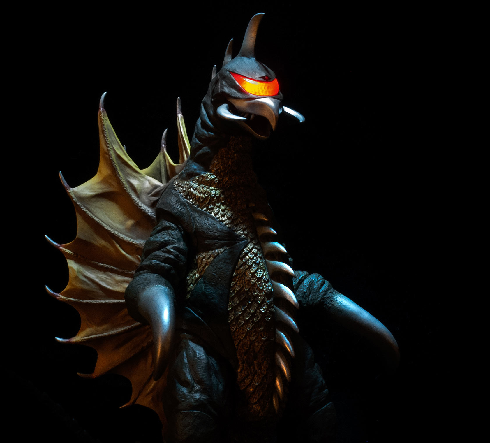 30cm Full Review Toho 30cm Series Gigan 1972 Vinyl Figure By X