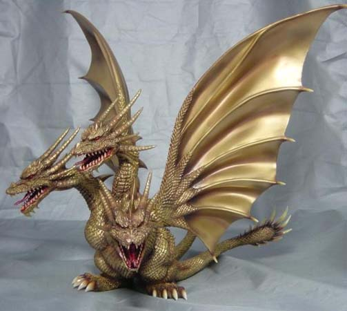 What Is Resin Material D-tech King Ghidorah 1991 W/ Dorat