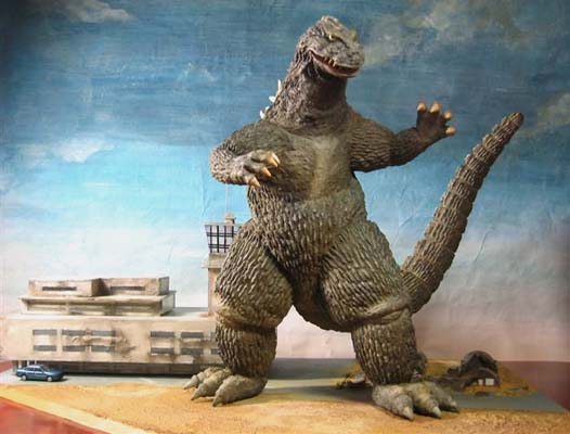 What Is Resin Material Godzilla 1962 Ginzu Shop