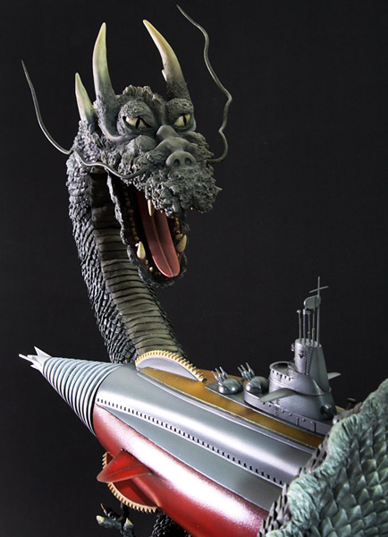 What Is Resin Material Manda Vs Atragon Kaiju Freaks Godzilla Kaiju Kits Resin Models